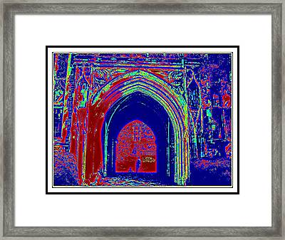Color Abstraction-35 Framed Print by Anand Swaroop Manchiraju