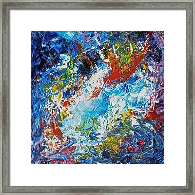 Color Explosion No Fifty Six  Framed Print by Ten Eyck Hunt