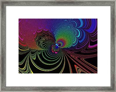 Color Image Framed Print by Mozhgan Vakili