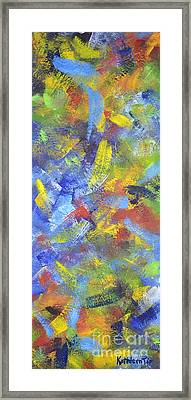 Color Movement Framed Print