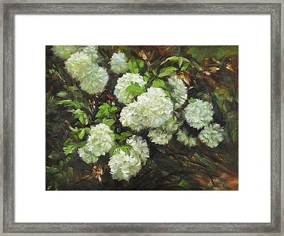 Color Of White Framed Print by Katherine Tucker