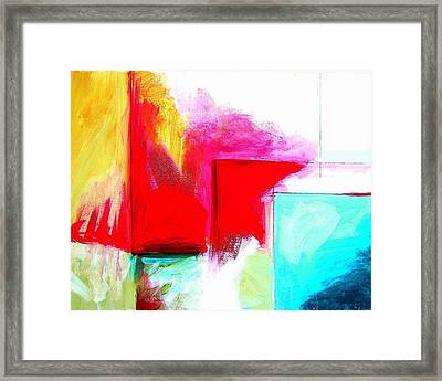 Color Planes Two Framed Print by Clint Lochridge