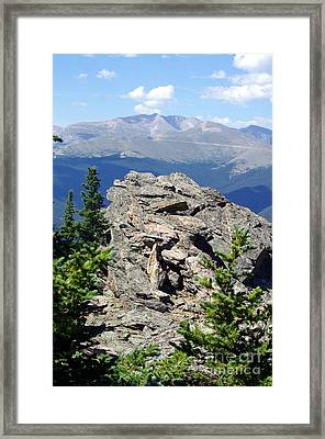 Framed Print featuring the photograph Colorado 11 by Deniece Platt