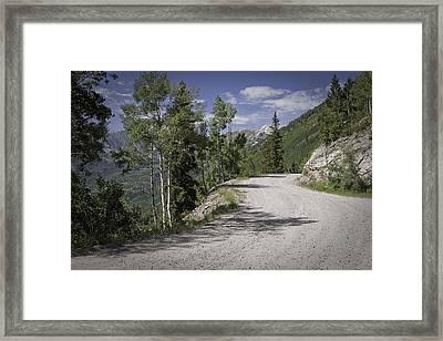 Colorado Backroads Framed Print by Graham Hughes
