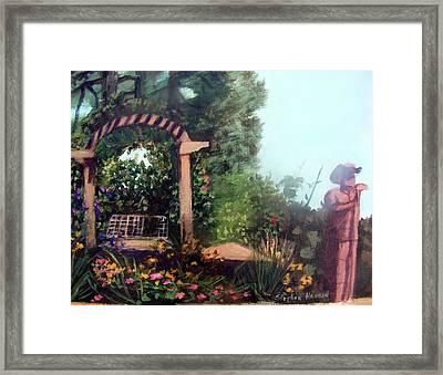 Colorado Flower Garden 2 Framed Print by Stephen  Hanson