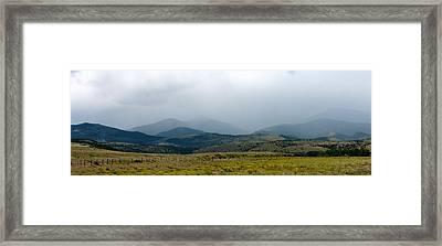 Colorado Foothills Framed Print by Daniel Dodd
