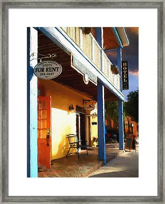 Colorado Hotel Framed Print by Robert Smith