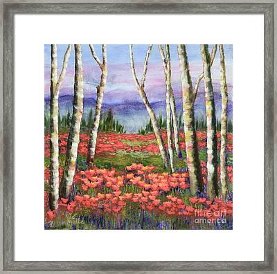 Colorado Meadow II Framed Print