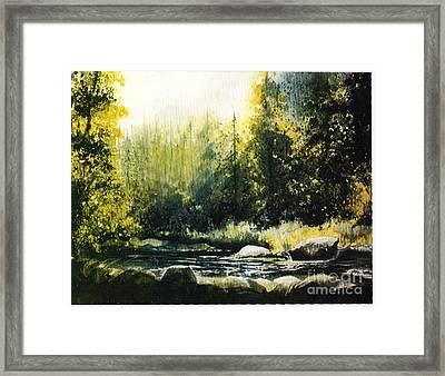 Colorado  Mountains Framed Print