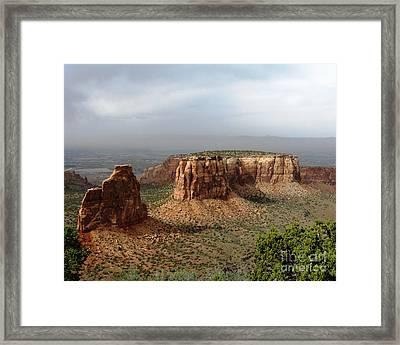 Colorado National Monument Framed Print by Patricia Januszkiewicz