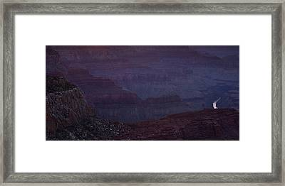 Colorado River At The Grand Canyon Framed Print