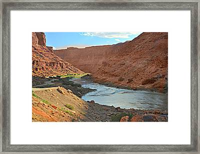 Colorado River Canyon 1 Framed Print by Marty Koch
