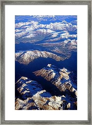 Colorado Rocky Mountains Planet Earth Framed Print by James BO  Insogna
