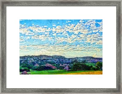 Colorado Skies 1 Framed Print by Angelina Vick