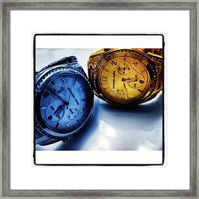 #colorblast! #watch #designer #cool Framed Print