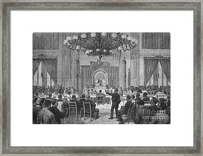 Colored National Convention, 1876 Framed Print