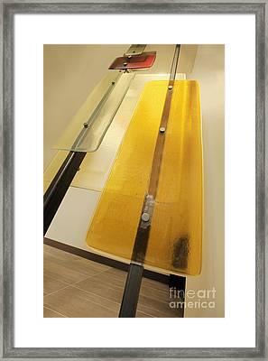 Colored Plexiglass Panels Framed Print