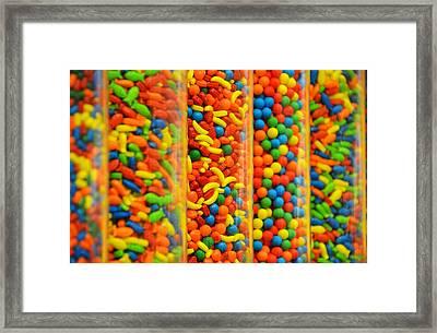 Colorful Candies Framed Print by Farah Faizal