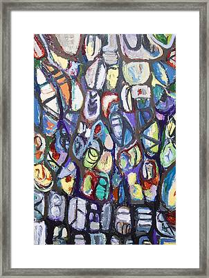 Colorful Cocoons Framed Print