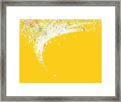 Colorful Curved Framed Print by Setsiri Silapasuwanchai