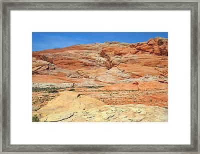 Colorful Desert Valley Of Fire Framed Print