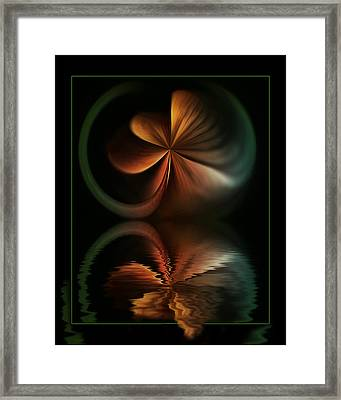 Colorful Fantasy Framed Print by Diane Dugas
