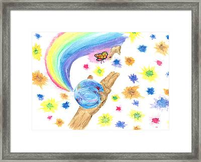 Colorful Journey Framed Print by Harry Richards