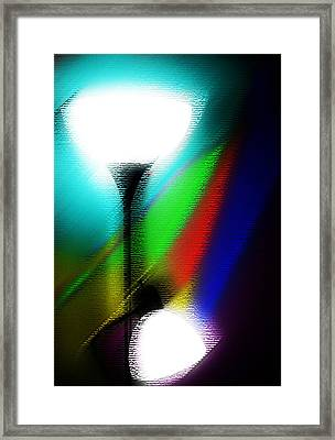 Colorful Lights Framed Print