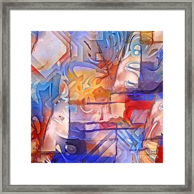 Colorful Living Framed Print by Lutz Baar