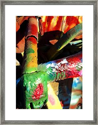 Colorful  Framed Print by Malania Hammer