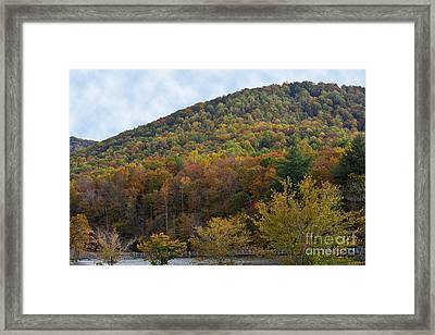 Colorful Mountain Framed Print