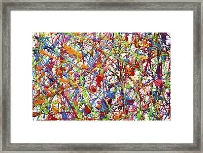 Colorful Painting Framed Print