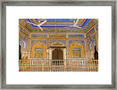 Colorful Palace Interior Framed Print by Inti St. Clair