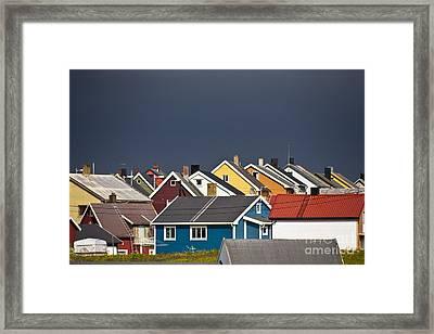 Colorful Vardoe Framed Print