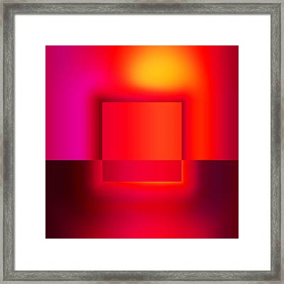 Colors 2.4 Framed Print by Li   van Saathoff