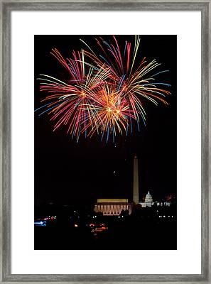 Colors In The Night Framed Print by David Hahn