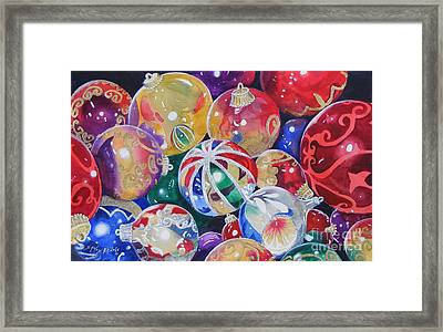 Colors Of Christmas ...sold  Framed Print