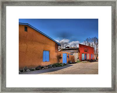 Colors Of New Mexico II Framed Print