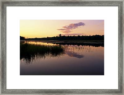 Framed Print featuring the photograph Colors Of The Dawn by Yelena Rozov