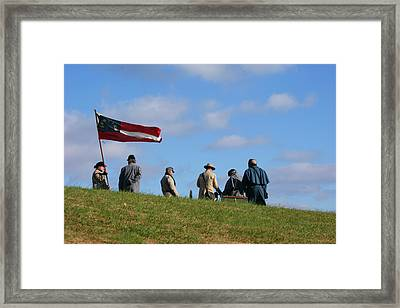 Framed Print featuring the photograph Colors Of Yesteryear by Paul Mashburn