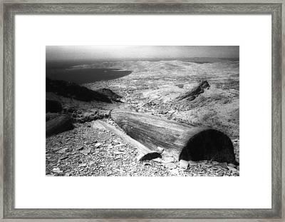 Colossal Pilars Framed Print by Andonis Katanos