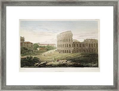 Colosseum: Rome, 1821 Framed Print
