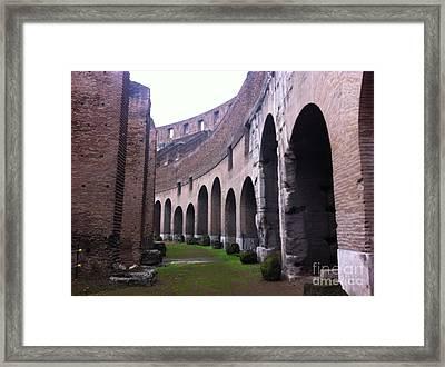 Colosseum Vomitorium Framed Print by Richard Chapman