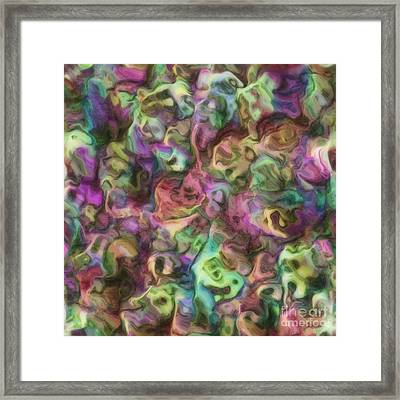 Colour Aquatica Framed Print