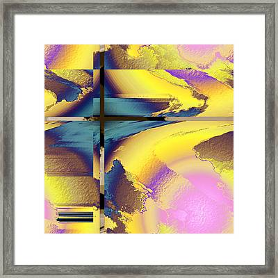 Colour Blitz I Framed Print