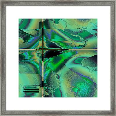 Colour Blitz II Framed Print
