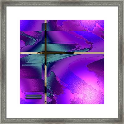 Colour Blitz IIi Framed Print