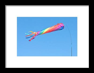 Kite Festival Framed Prints