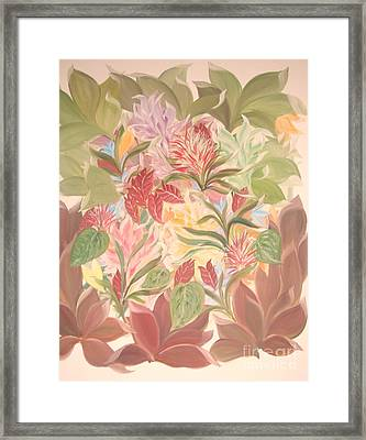 Colourful Leaves Framed Print by Rachel Carmichael