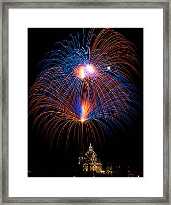Colourful Skies  Framed Print by Focus  Fotos